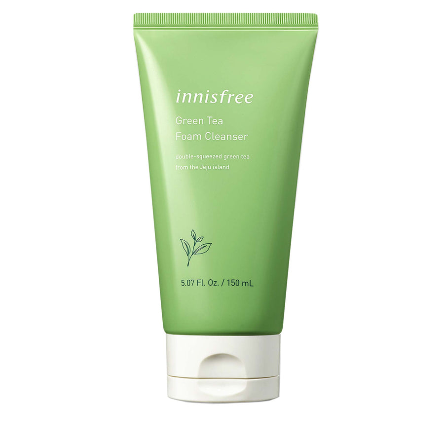 Innisfree Green Tea Foam Cleanser - kosamebeauty