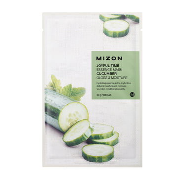 Mizon Joyful Time Essence Cucumber Sheet Mask 23g - kosamebeauty