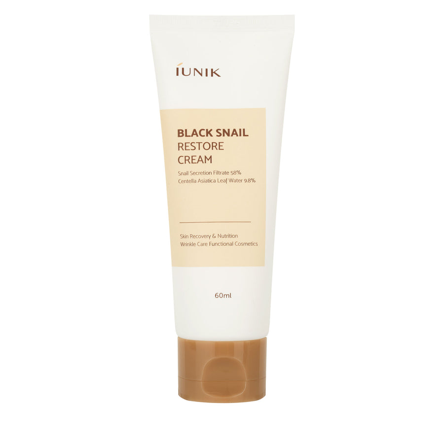 iUNIK Black Snail Restore Cream 60ml - kosamebeauty