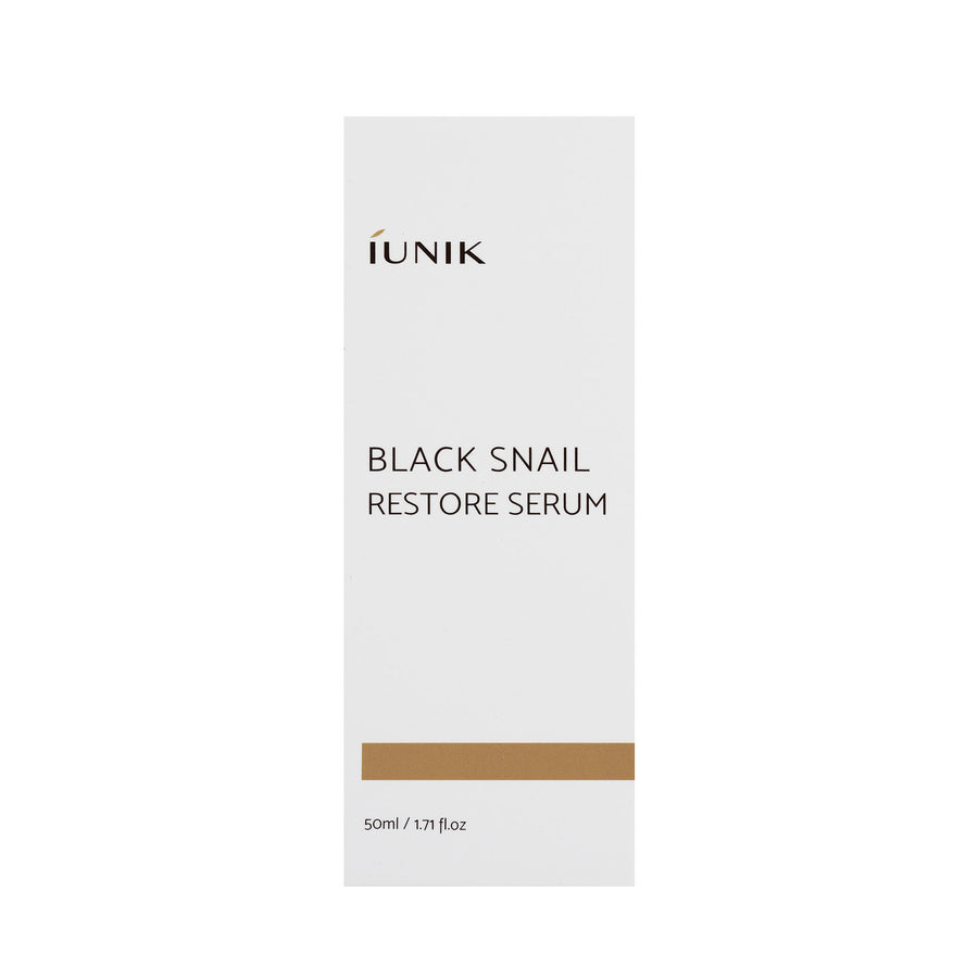 iUNIK Black Snail Restore Serum 50ml - kosamebeauty