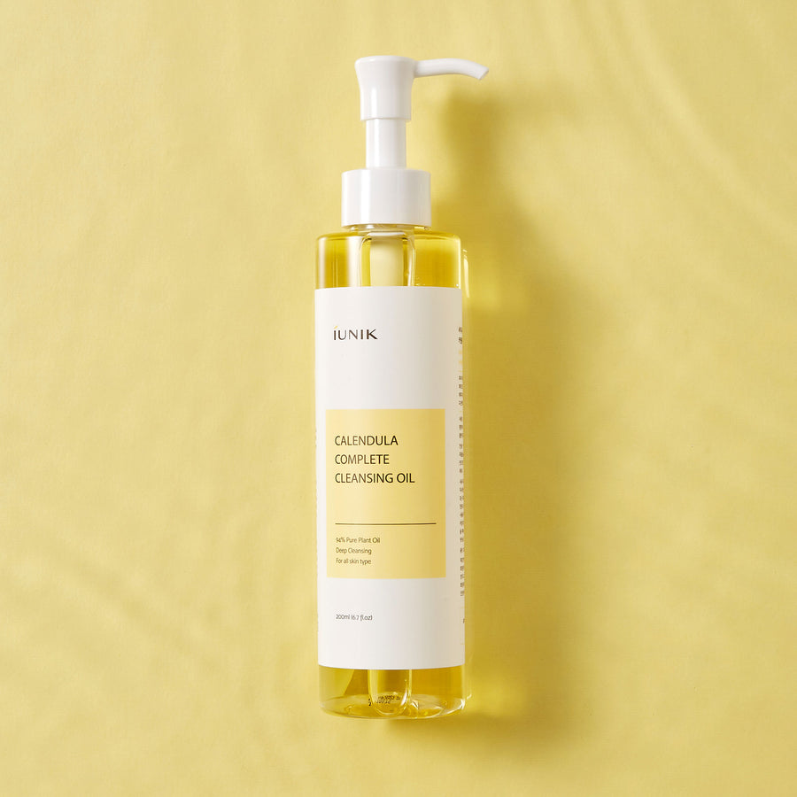 iUNIK Calendula Complete Cleansing Oil 200ml - kosamebeauty
