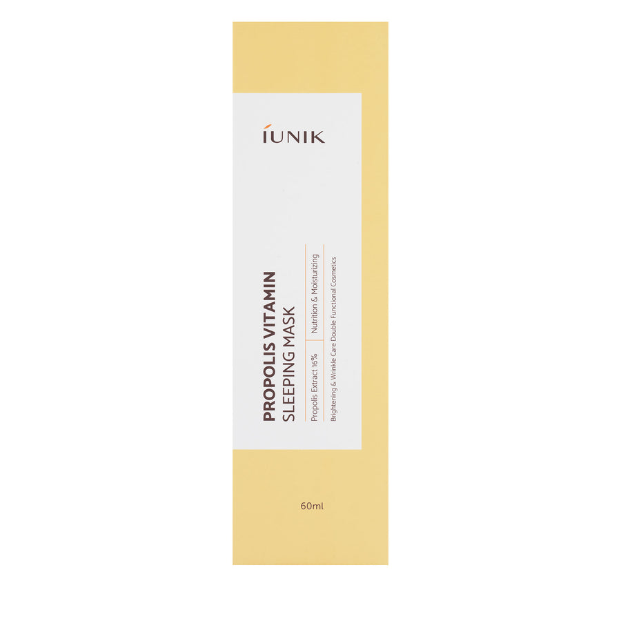 iUNIK Propolis Vitamin Sleeping Mask 60ml - Kosame Beauty