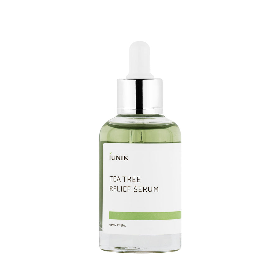 iUNIK Tea Tree Relief Serum 50ml - kosamebeauty