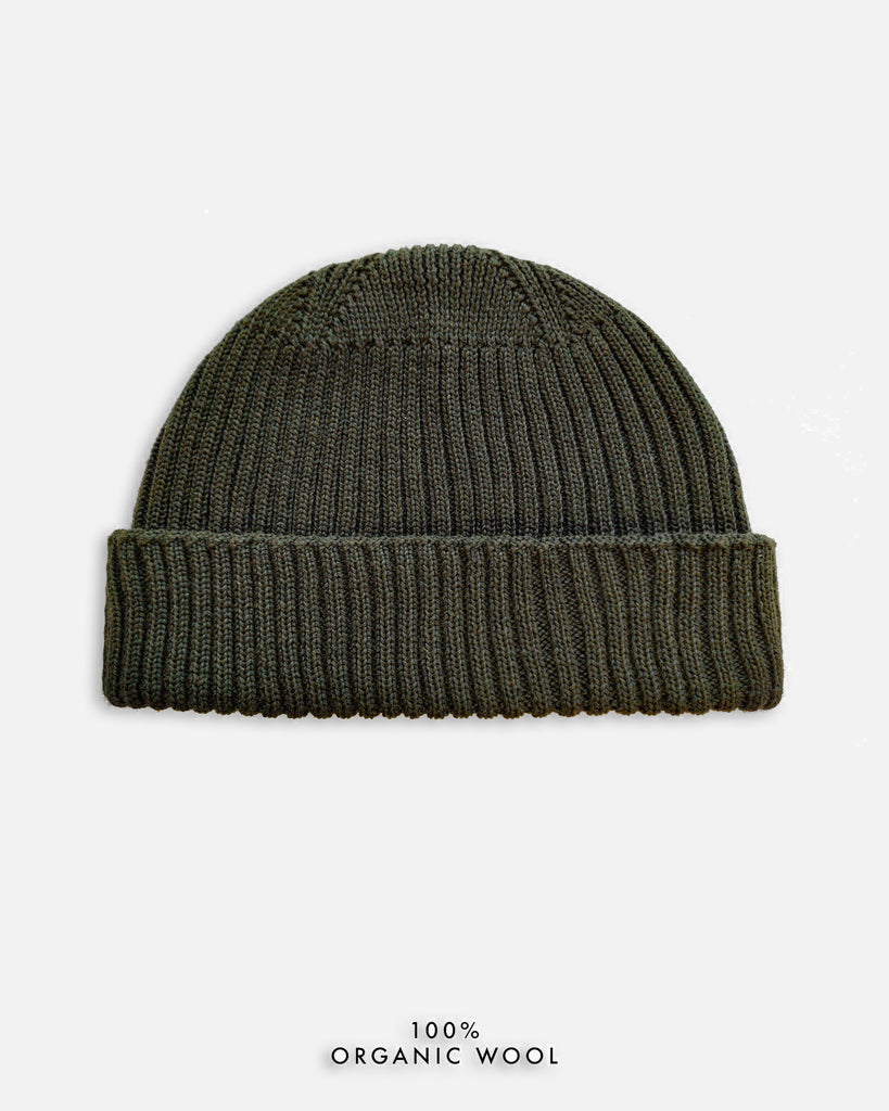 Grain Rib Hat - Dark Green (Army)