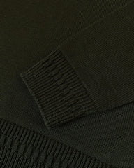 Evergreen Wool Jumper - Dark Green (Army)