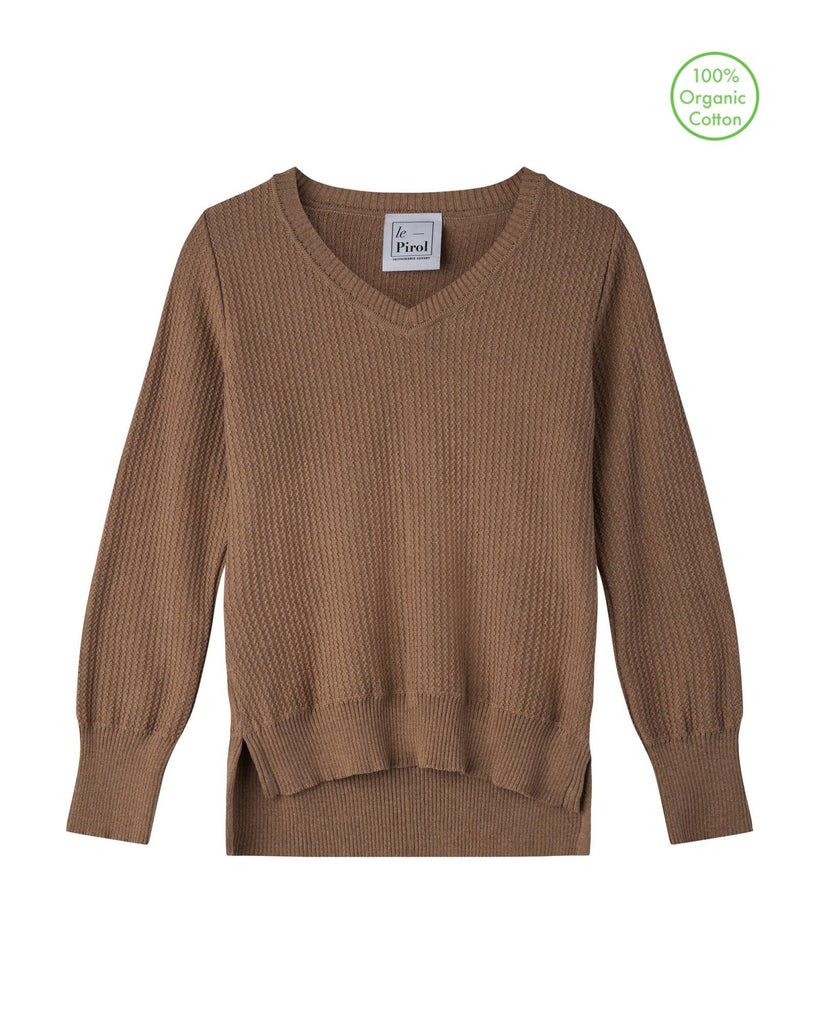 Harvest Cotton Jumper - Beige