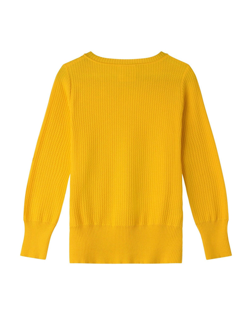 Harvest Cotton Jumper - Yellow