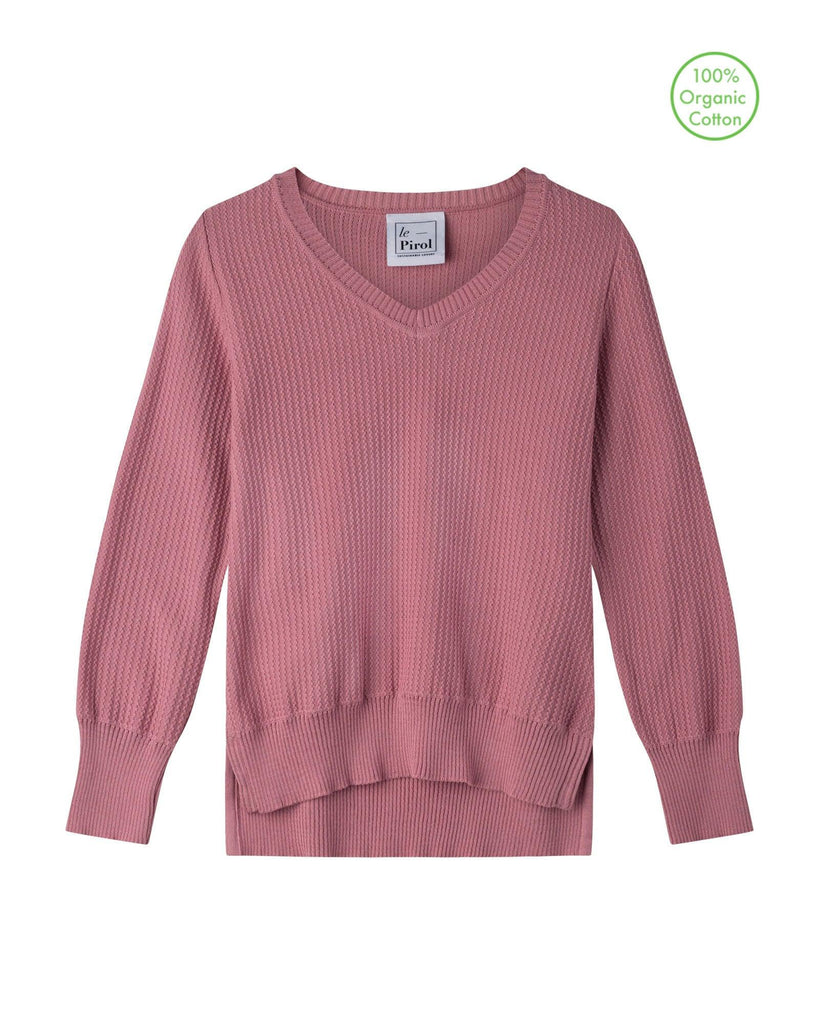 Harvest Cotton Jumper - Rose