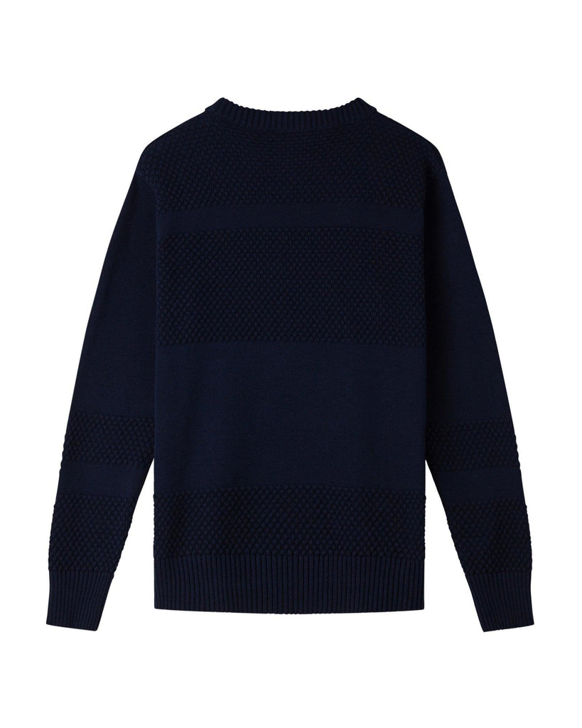 Anker Cotton Jumper - Navy