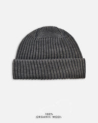 Grain Rib Hat - Grey