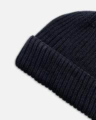 Grain Rib Hat - Navy