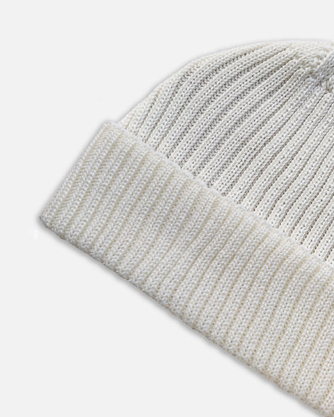 Grain Rib Hat - White