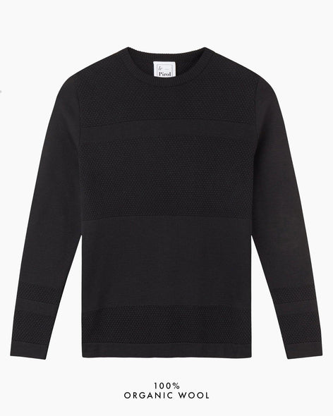 Wex Sailor Sweater - Black