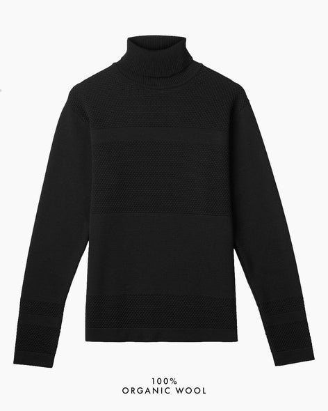 Wex Sailor Turtleneck - Black