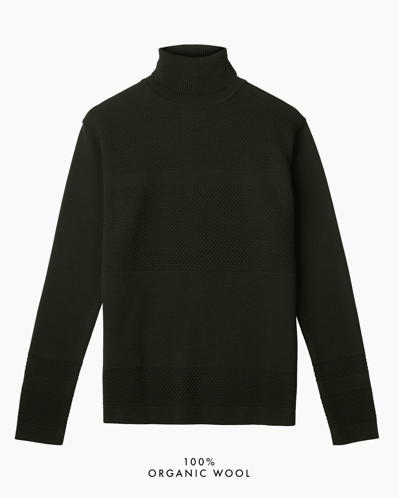 Wex Sailor Turtleneck - Dark Green (Army)