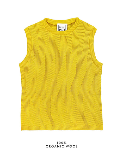 Painters Brush Vest - Yellow