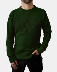 Anker Cotton Jumper - Dark Green