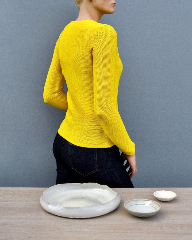Soft Cloud Cardigan - Yellow