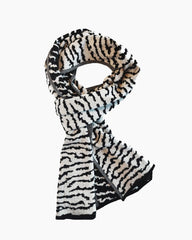 Lake Touch Scarf - B/W