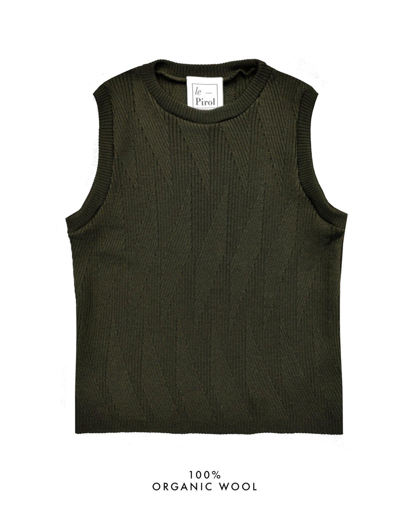 Painters Brush Vest - Dark Green (Army)