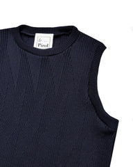 Painters Brush Vest - Navy