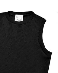 Painters Brush Vest - Black