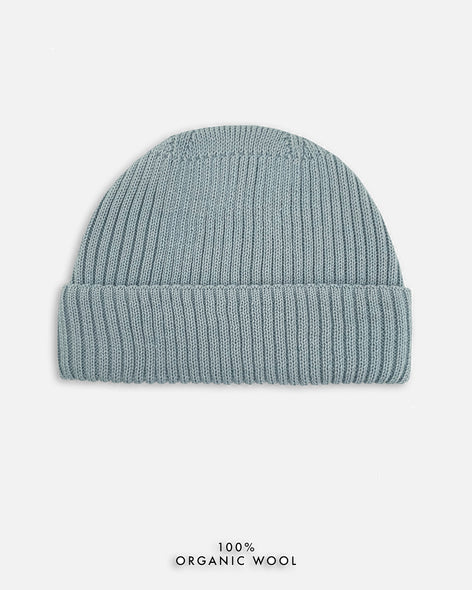 Grain Rib Hat - Light Blue