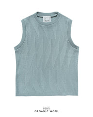 Painters Brush Vest - Light Blue