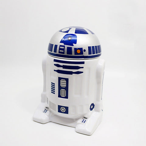 Star Wars Robot Ceramic Tea Coffee Mug with Ceramic Lid