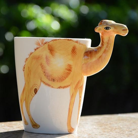 Camel Lover 3D Ceramic Mug