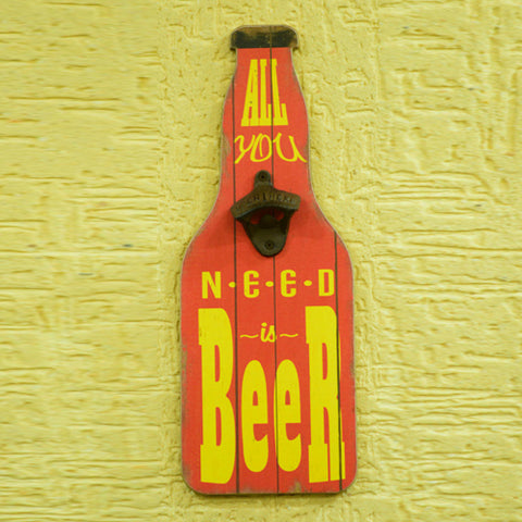 Wall Mount Beer Opener