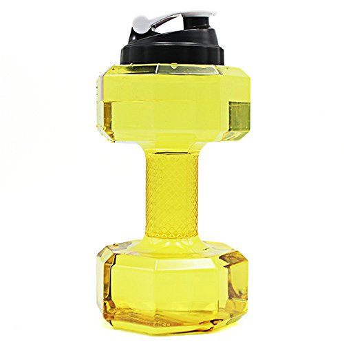 2.2L Dumbbell Shaped Large Capacity Sports Water