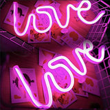Love LED lamp