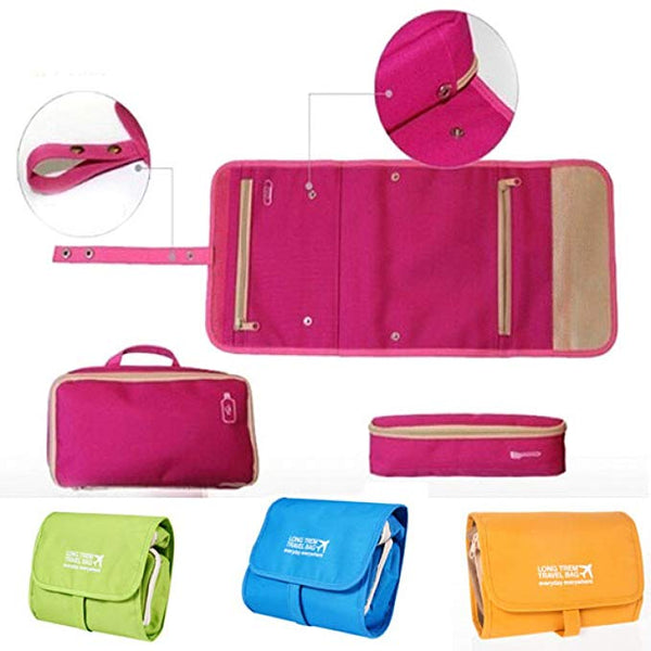 Multi Purpose Long Term Travel Bag Organizer