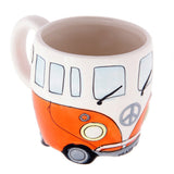 Camper Van Design Ceramic Tea Coffee Mug