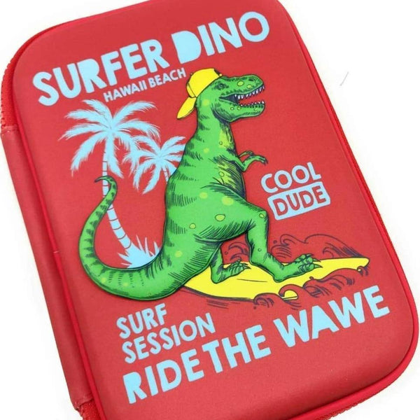 Surfer dino 3d Print Pencil Boxes