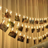 20 LED 3 m Length Photo Clip Lights for Decoration