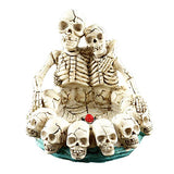 Skeleton Skull Ashtray