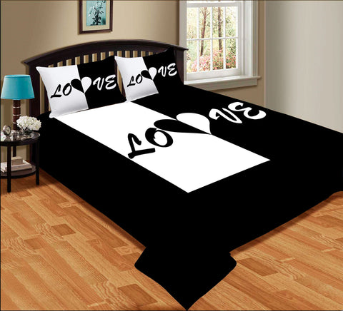 Love Couple Bed sheet