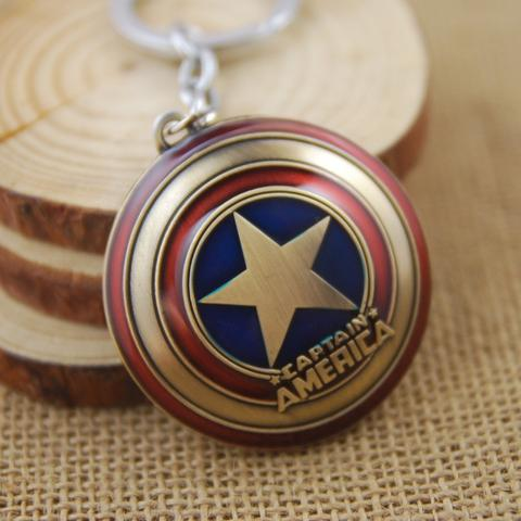 Cool Captain America Shield Keychain
