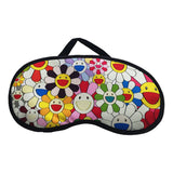 Sleeping eye mask with cooling gel