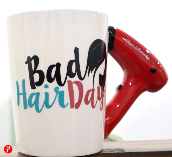 Bad hair coffee mug