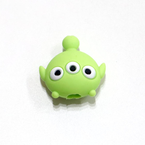 Alien monster head shaped iphone cable protector