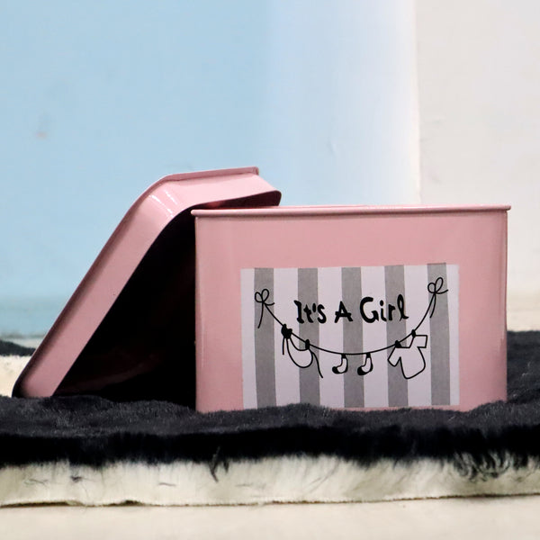 It's a girl storage/gift Iron box