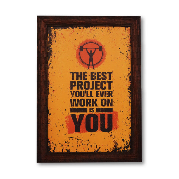 The best project washable poster with frame