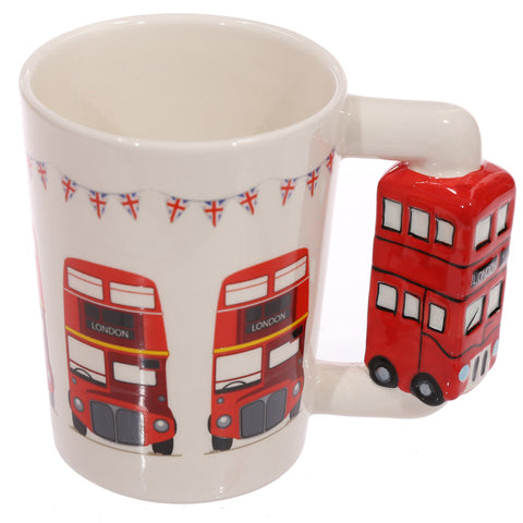 Routemaster London Bus Shaped Handle Mug