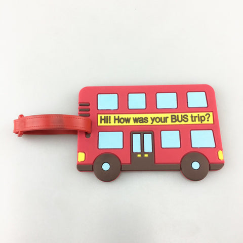 Bus Luggage Tag