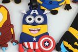 Captain America Minion Luggage Tag