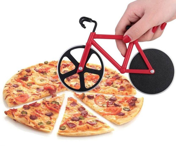 Bicycle Pizza & Dosa Cutter Double Ended Cutter