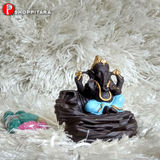 Lord Ganesha with Scented Smoke fountain